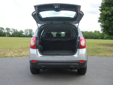 Chevrolet Captiva Dog Friendly Review Boot
