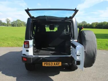 Jeep Wrangler Dog Friendly Review Rear
